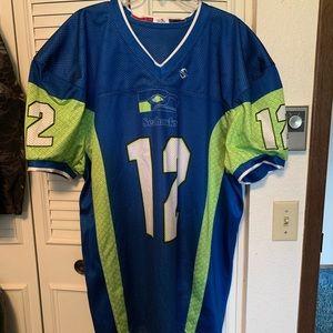 Other - Seahawks custom football jersey